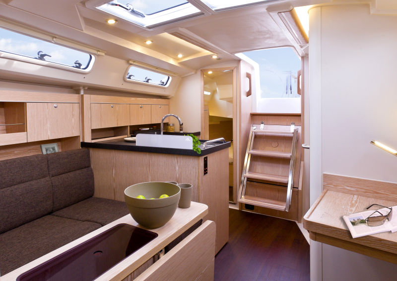 hanse 345 voilier hanse yachts importateur france. Black Bedroom Furniture Sets. Home Design Ideas