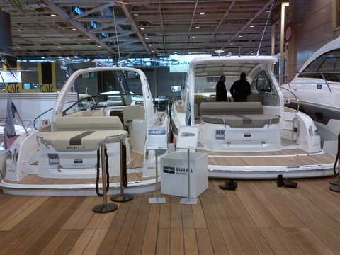 Salons nautiques Bavaria motorboats