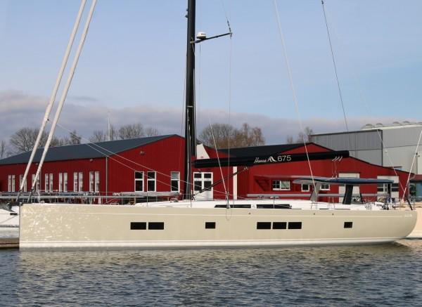 le nouveau Hanse 675