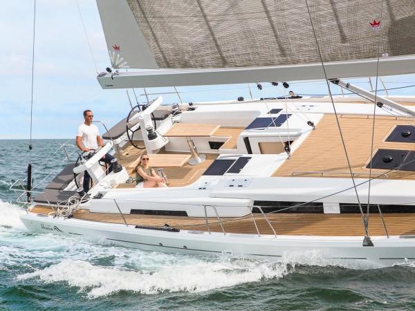 Hanse 548 navigation
